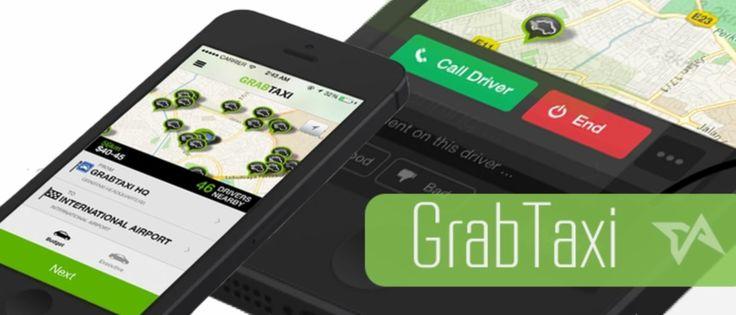 Aplikasi Untuk Booking Taksi Bernama GrabTaxi