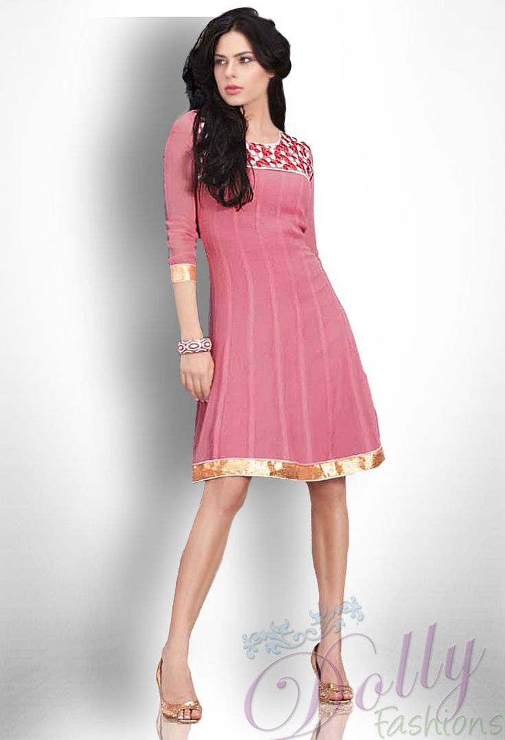 12 best kurti images on Pinterest | Moda india, Diseños de vestido y ...