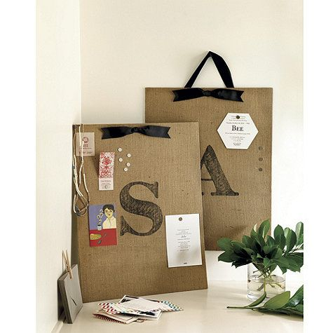 A personalized memo board is a great gift for busy moms. Hang it near the back door and it instantly becomes an organized drop spot for mail, kids' drawings, and grocery lists!
