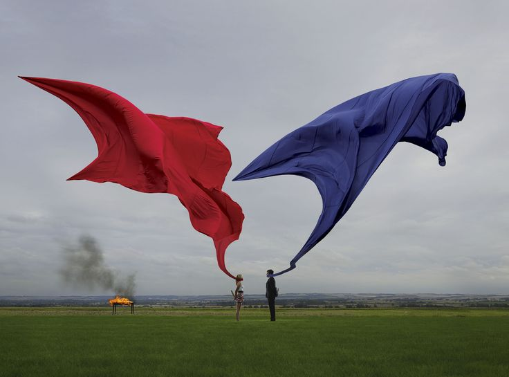 Storm Thorgerson album artwork. Responsible for Pink Floyd, Muse, and Biffy Clyro album covers.