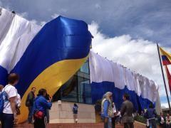 Bogotá se vistió de azul y nuevamente Millonarios dijo presente