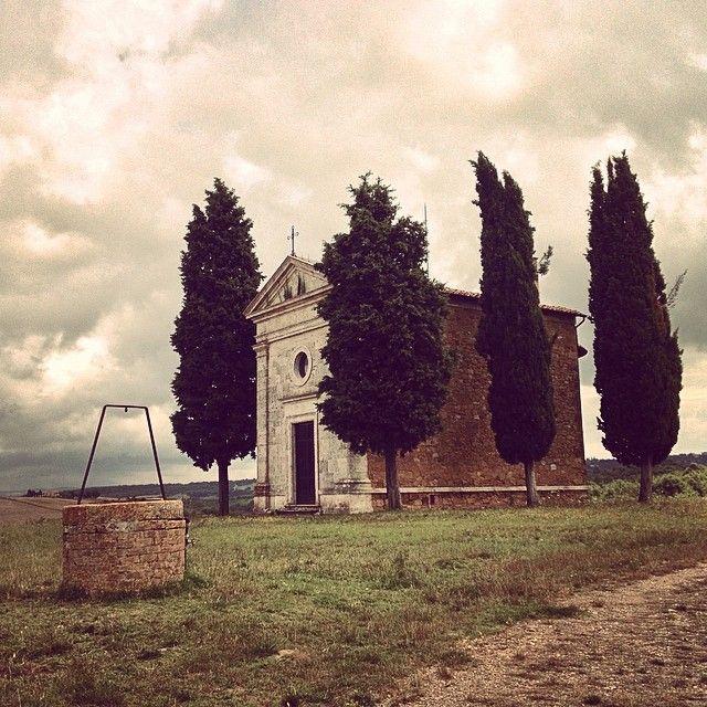 Cappella della Madonna di Vitaleta - Vitaleta | #siena #valdorcia #toscana #italia #tuscany #italy