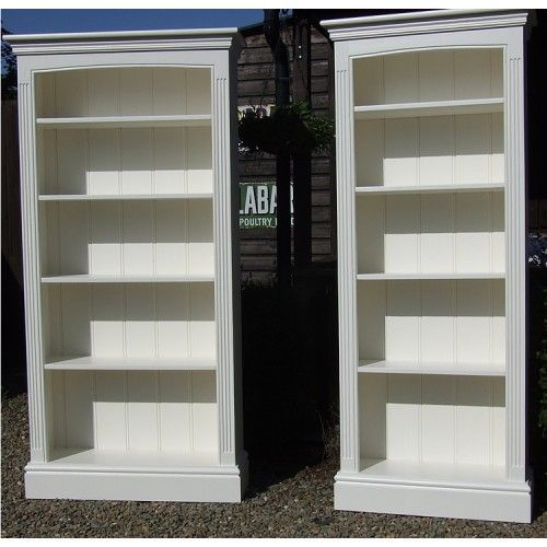 Painted bookcases and bookshelves made to order in any size and finished in  any colour from the Farrow & Ball or Dulux colour ranges. - 23 Best Painted Bookshelves Images On Pinterest Painted