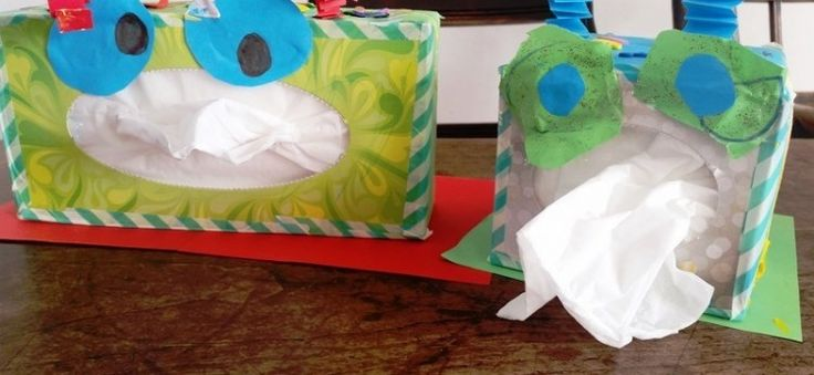 Tissue-monster knutselen!   Nanny Annelon   Blog
