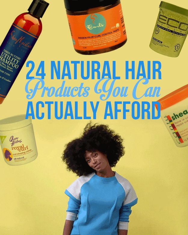 27 Natural Hair Products All Under $10