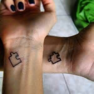 puzzle piece tattoo want this on my left wrist and colored purpul