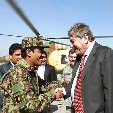 Movies: Richard Holbrooke advises against Afghan mission in The Diplomat clip