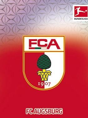 FC Augsburg of Germany crest.