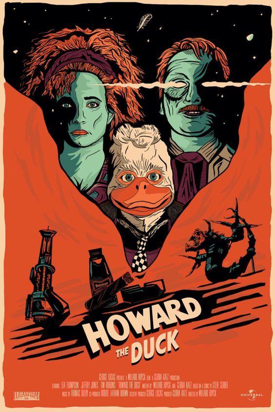 Howard the Duck / Howard - Ein tierischer Held (1986)