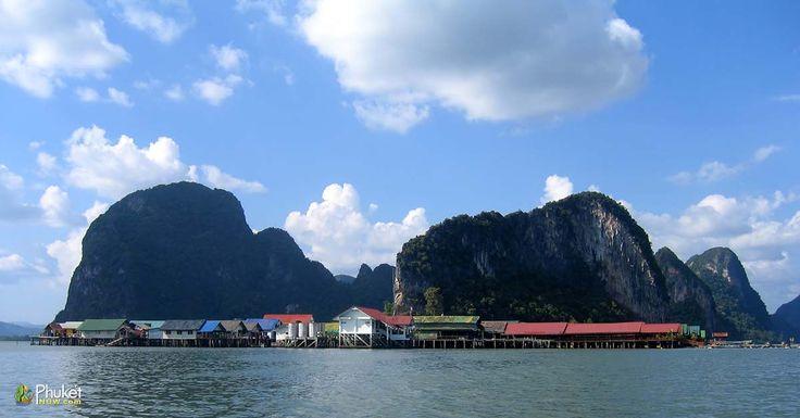 Koh Panyee Village - Malay fishing community on Phang Nga Bay, Thailand