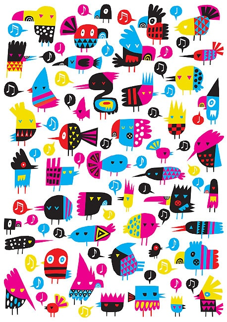 Beck Wheeler- Birds