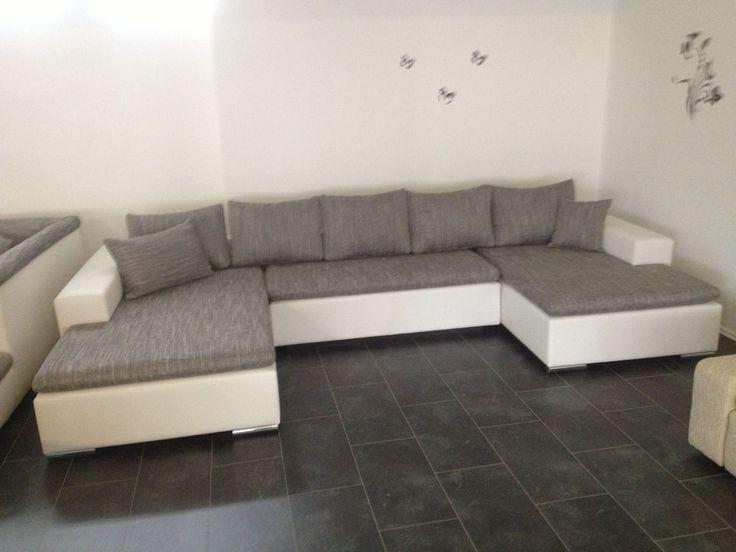 Awesome XL Sofa de SOFA BETTSOFA SchlafCOUCH COuch Wohnlandschaft Ausstellungsst ck