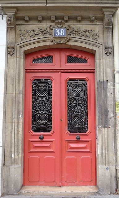 Favorite colorful front doors: http://studiostyleblog.com/2014/06/23/favorite-colorful-front-doors/