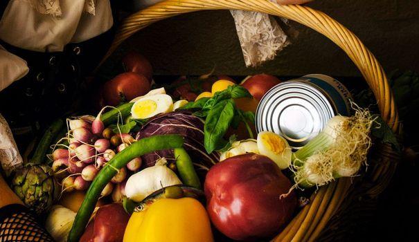 Recette de la vraie salade niçoise de Jacques Médecin