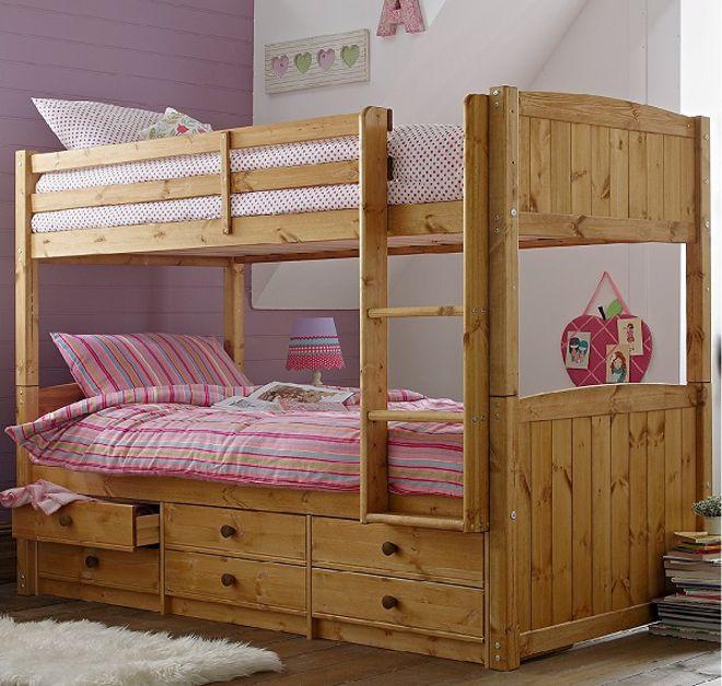 Kidspace Georgie Storage Bunk Bed