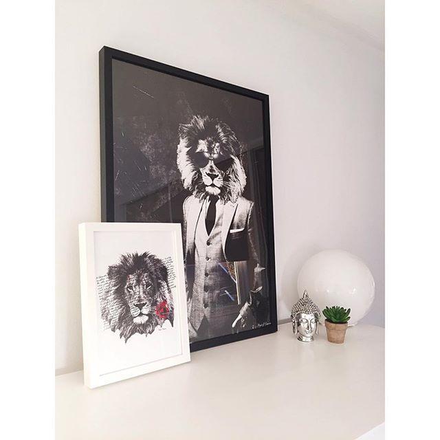 Lions <3 #poster #interior #design #home #decor #wall #art www.peopleoftomorrow.no