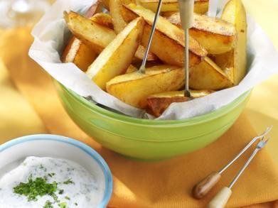 Aardappelpartjes met kruidendip (Libelle Lekker!)