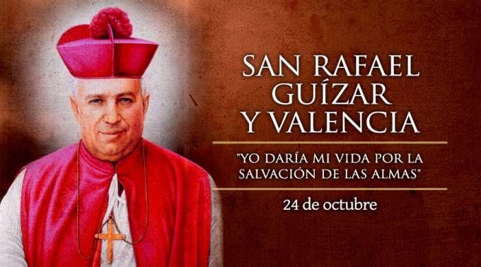 Hoy se celebra a San Rafael Guízar, Patrono de los Obispos de México
