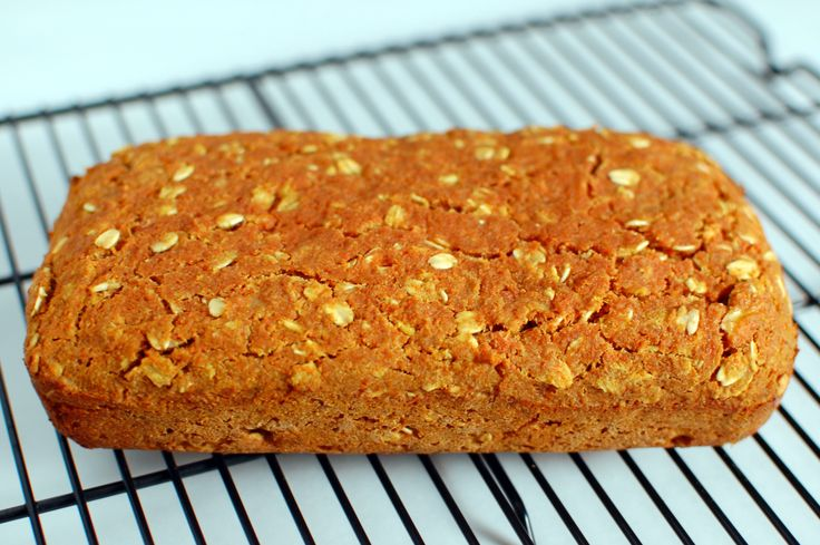 Carrot Bread - this is made with the carrot pulp that's left after juicing