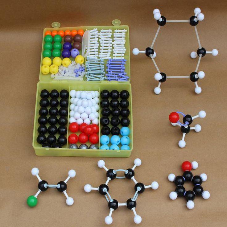 269 teile/los Molekulare Modell Set Kit-Allgemeine Und Organische Chemie Für Schullabor Lehre Forschung