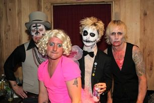 Green Day Halloween Party/Show 2011