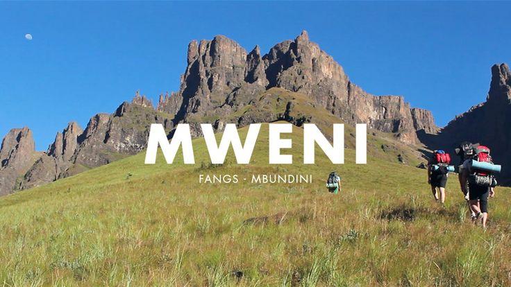 Graphic designer or not. Durbanite Warkwick Kay captured this #Drakensberg #hike on film beautifully... #mountians