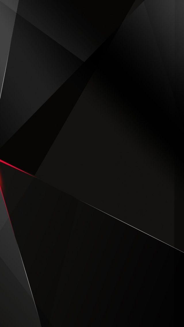 Abstract Dark Geometric IPhone 5 HD Wallpaper