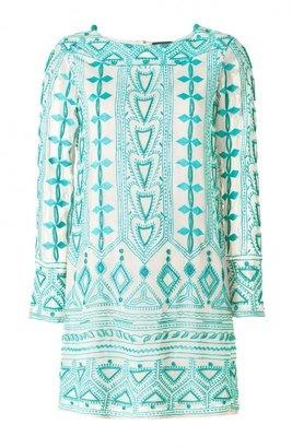 ShopStyle: Antik Batik Kleid Türkis