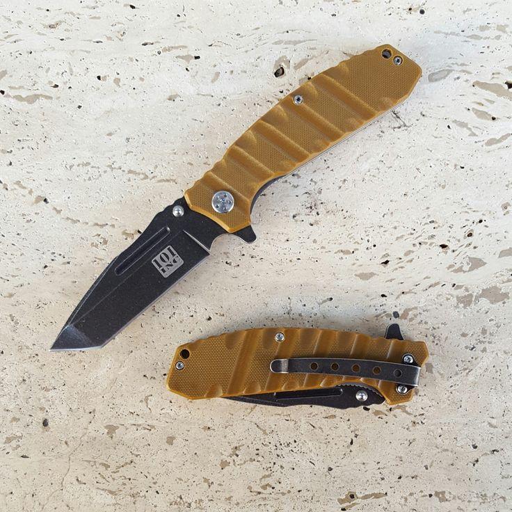 101 INC Tactical Folding Knives Coyote BF017918 - Coltelli e pinze - Equipment