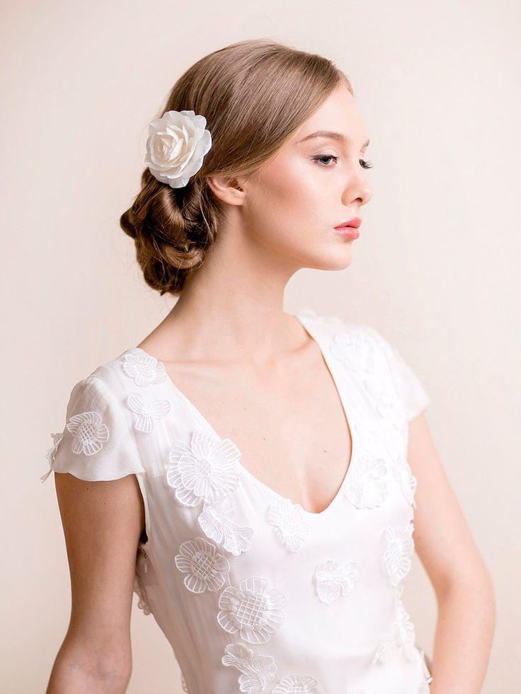 35 best FLORENTES | Flower Hair Clips & Pins images on Pinterest ...