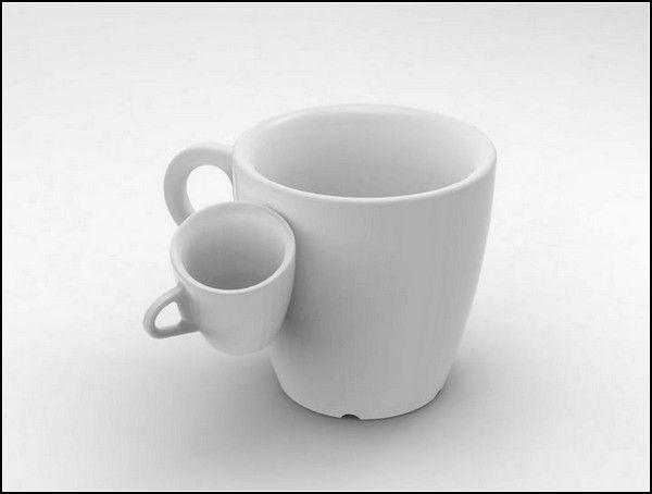 Чашка кофе в день. Проект One Coffee Cup a Day в исполнении Берната Куни (Bernat Cuni)  Ни дня без чашки, - таков был лозунг дизайнера-экспериментатора Берната Куни (Bernat Cuni) на протяжение месяца. И дело не столько в том, что дизайнер жить не может без кофеина. Дело в том, что он задумал реализовать необычный дизайн-проект One Coffee Cup a Day, спроектировав за 30 дней 30 оригинальных чашек для эспрессо, подобных которым вам еще не приходилось видеть.    Bernat Cuni, One Coffee Cup a…