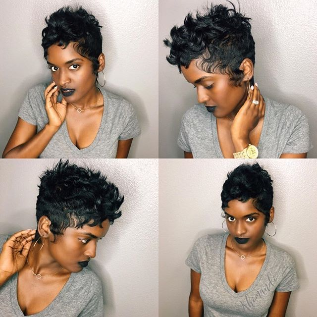 Betty Boop Hairstyle 47 Best The Tapered Do Images On Pinterest  Natural Hair African