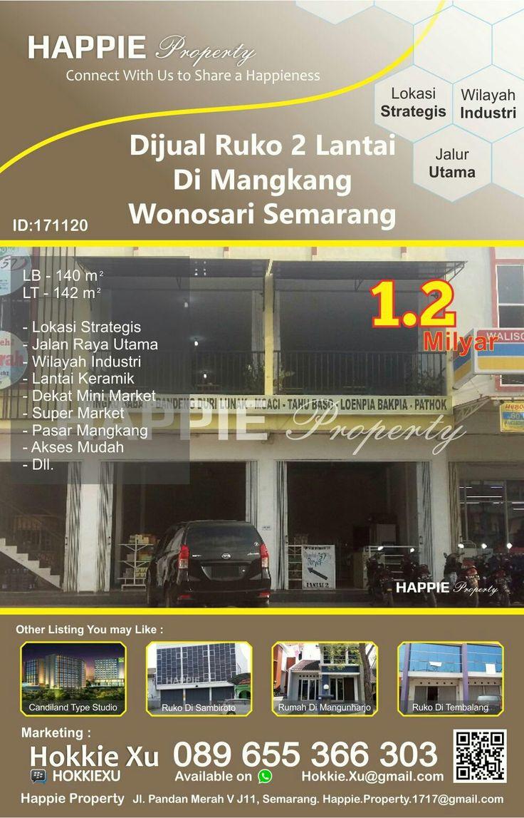 Ruko 2 Lantai Dijual Di Wonosari Mangkang Semarang  Minat Hub : Hokkie Xu - 089 655 366 303 Available on WhatsApp Pin BBM - HOKKIEXU David Henky - 085 72763 9999 Available on WhatsApp
