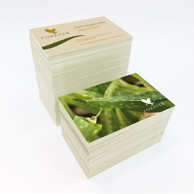 Forever Living Products Business Card