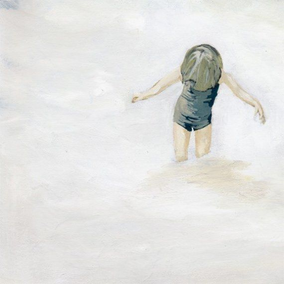 Een afdruk van een van mijn schilderijen, dit stuk werd oorspronkelijk gedaan met acrylverf op doek.  Het beeld meet 8 x 8 is afgedrukt op papier