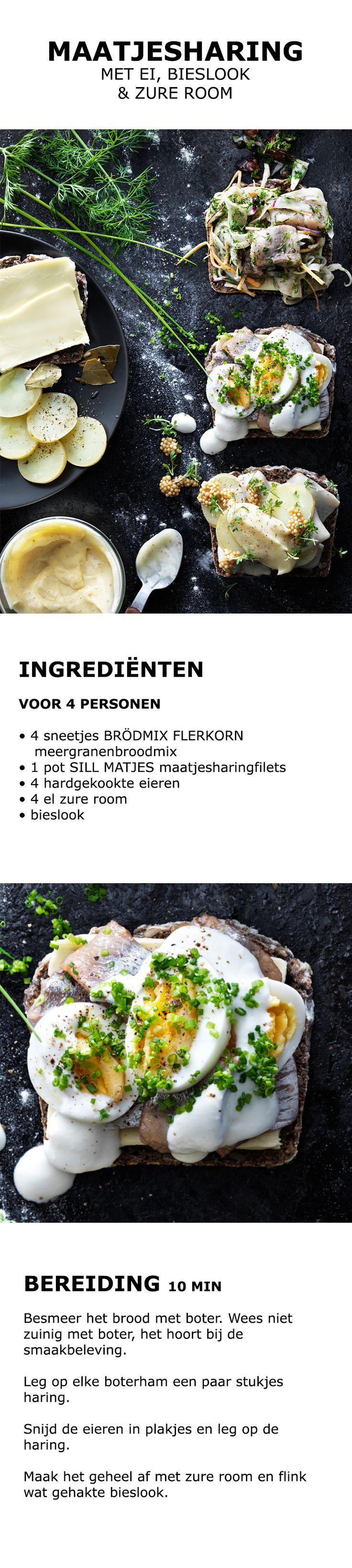 Inspiratie voor de feestdagen - Maatjesharing met ei, bieslook en zure room | IKEA IKEAnederland koken keuken recept herfst winter kerst diner lunch zweeds gerecht menu
