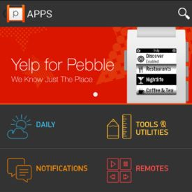 Pebble Smartwatch App Store Launches Monday on iOS