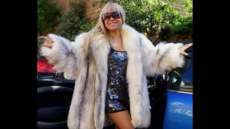 Woman In White Fox Fur Part 31