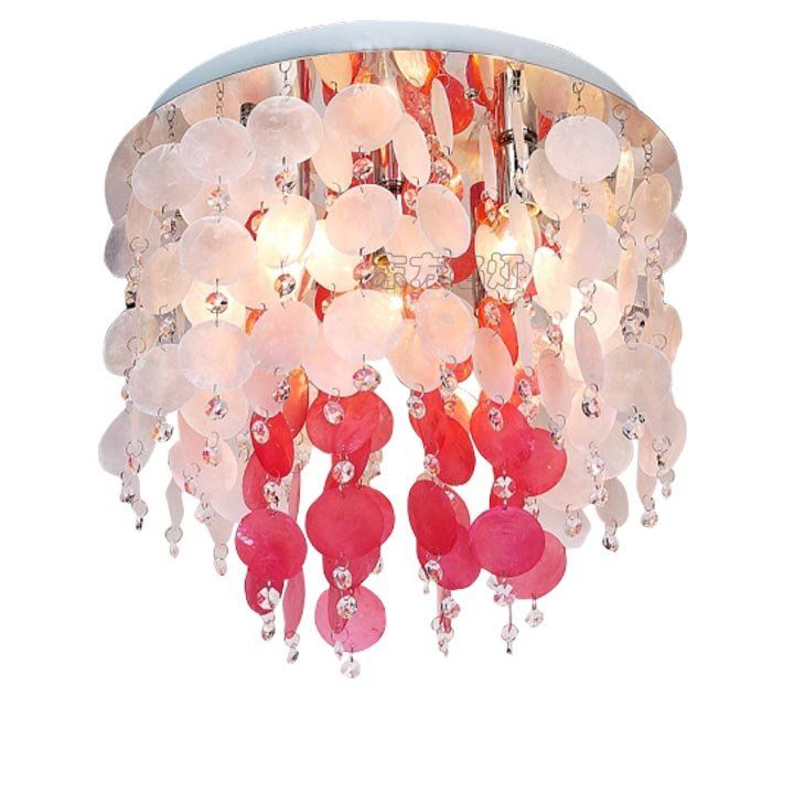 kids'room ceiling lamps modern crystal lighting sea shell lighting conch modern lamp for bed room modern ceiling lighting