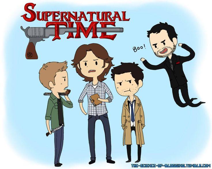 Supernatural Time~! by psycho-bunny-bunny.deviantart.com on @deviantART