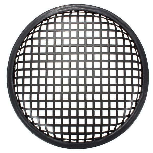 8 Inch Subwoofer Speaker Covers Black Mesh Grilles Protect Guard