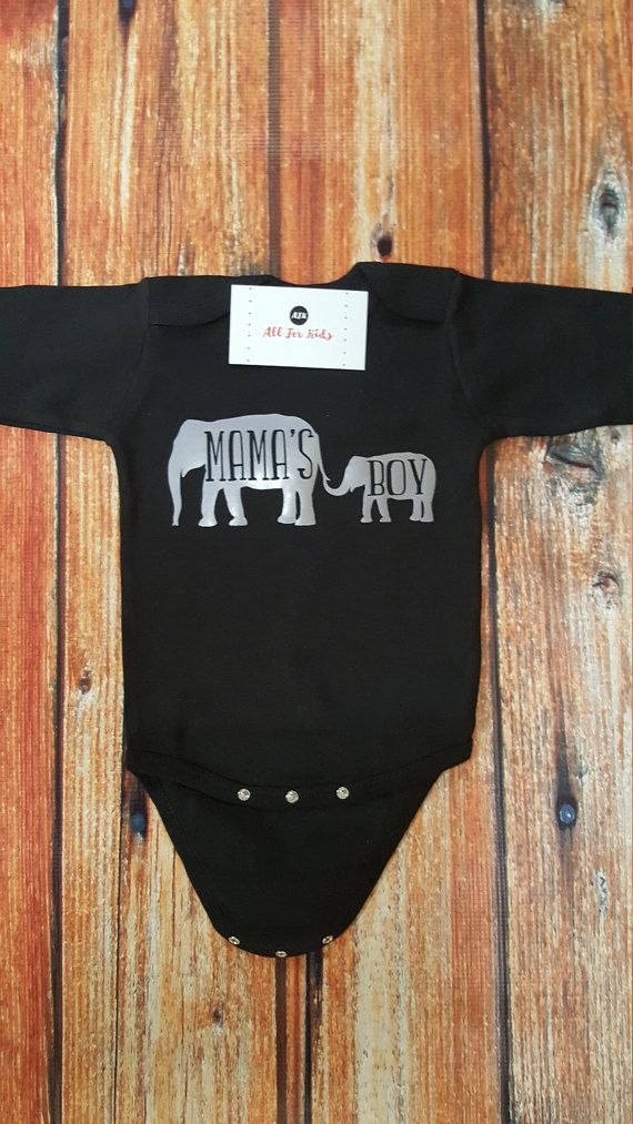 Mama's Boy Bodysuit by AllForKidsBoutique on Etsy