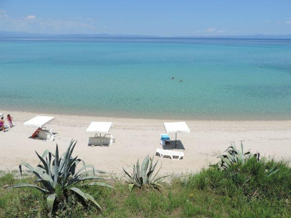 Dream beach, Kriopigi in Halkidiki