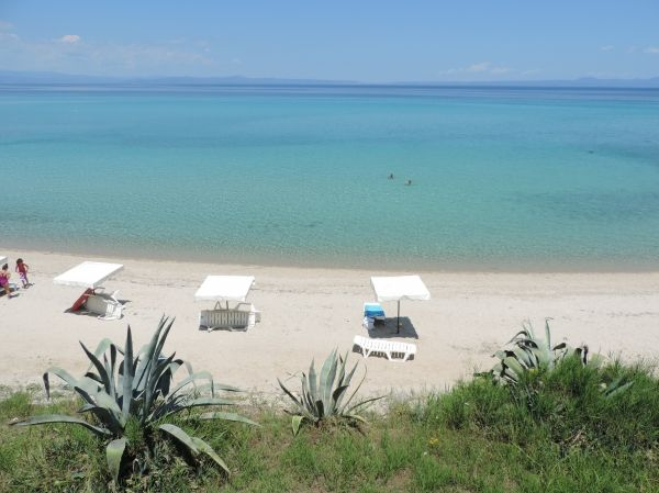 Dream beach, Kriopigi in Halkidiki