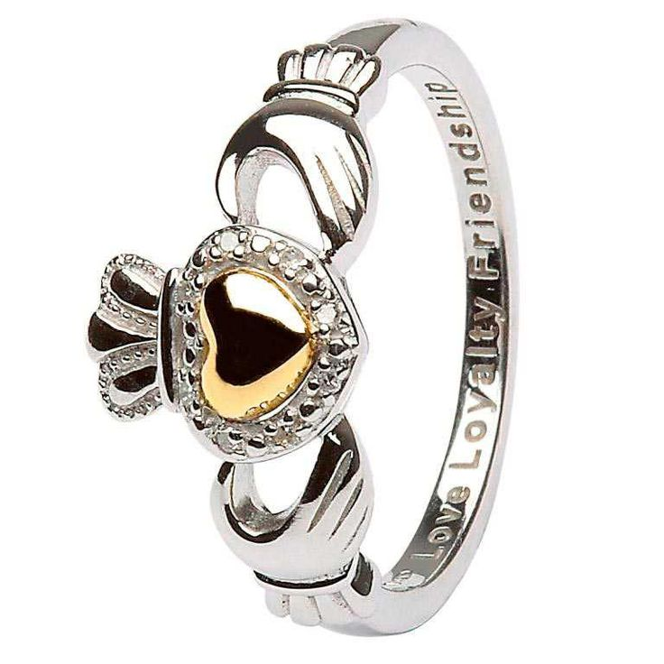 Fabuleux 43 best Claddagh Rings images on Pinterest | Claddagh rings  WN28
