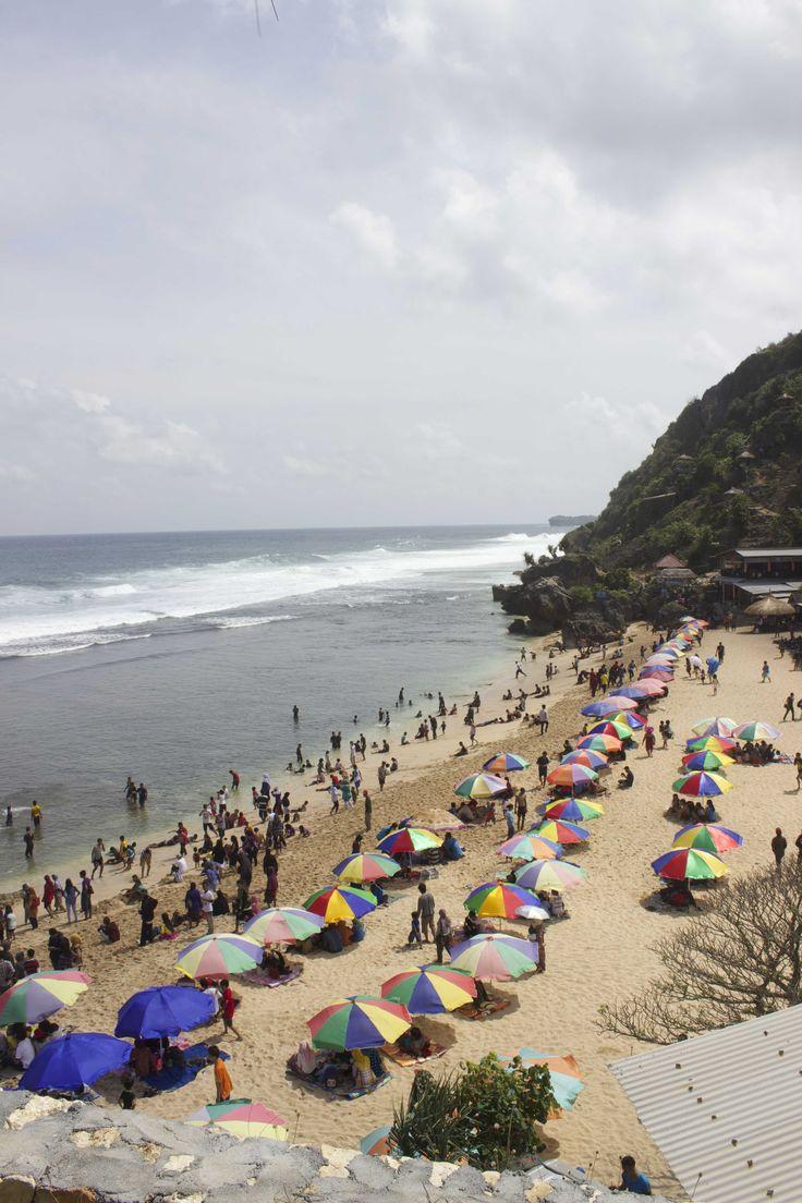 Pok Tunggal Beach, Yogyakarta - Indonesia.