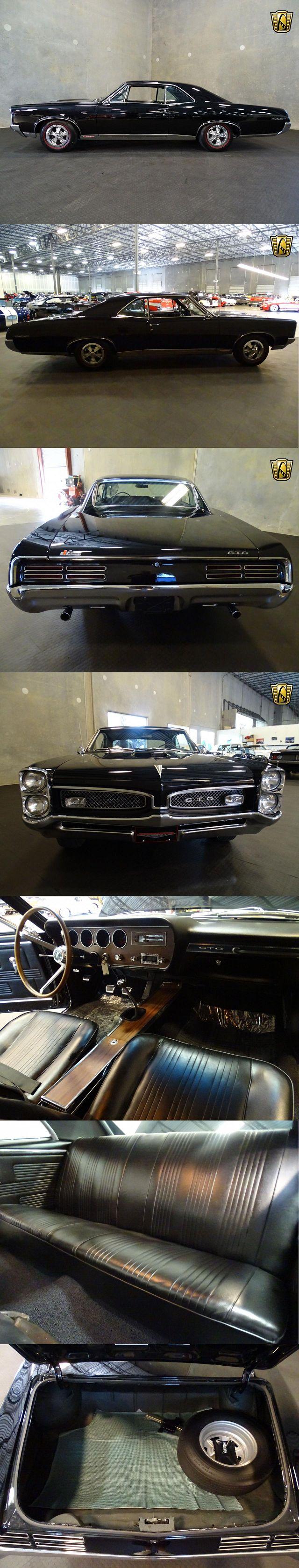 #1967 #PontiacGTO V8 H.O. 400 CID 4 Speed Manual
