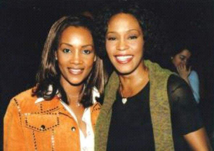 Whitney with Vivica Foxe