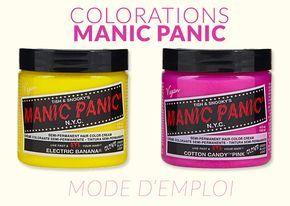 Les colorations Manic Panic fonctionnent comme une autre coloration semi-permanente et sont très faciles à appliquer. Pour vous aider, voici le mode d'empl