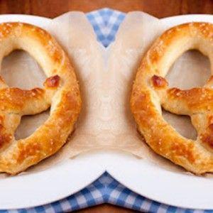 Receta para hacer pretzels caseros